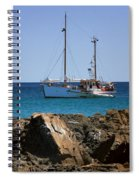 Lost At Sea Spiral Notebook