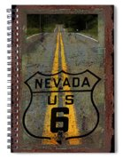 Lost Highway Spiral Notebook
