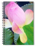 Lotus Lilly Spiral Notebook