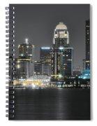 Night Lights Of Louisville Spiral Notebook