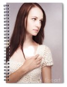 Love And Loss Spiral Notebook