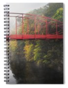 Lovers Leap Bridge Spiral Notebook