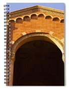 Low Angle View Of Royce Hall Spiral Notebook