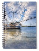 Low Tide Spiral Notebook