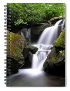 Lower Grotto Falls Spiral Notebook
