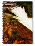 Lower Punchbowl Falls Spiral Notebook