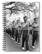 Lsu Marching Band Vignette Spiral Notebook