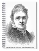 Lucretia Garfield (1832-1918) Spiral Notebook