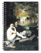 Luncheon On The Grass Spiral Notebook