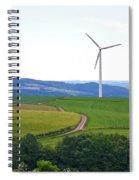 Luxemburg Views Spiral Notebook