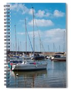 Lyme Regis Harbour 2 Spiral Notebook