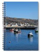 Lyme Regis Harbour Spiral Notebook