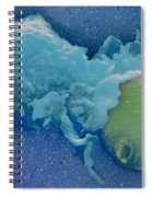 Macrophage Englufing Yeast Cell Spiral Notebook