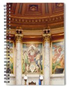 Murals In The Capitol - Madison Spiral Notebook