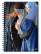 Madonna And Jesus Spiral Notebook