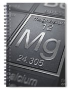 Magnesium Chemical Element Spiral Notebook
