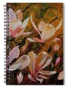 Magnolias Spiral Notebook