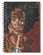 Mahogany Spiral Notebook