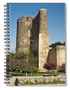 Maidens Tower In Baku Azerbaijan Spiral Notebook