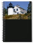 Maine Lighthouse Spiral Notebook