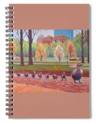 Make Way For Ducklings Spiral Notebook