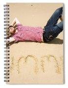 Man Of Summer Spiral Notebook