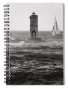 Mangiabarche's Lighthouse Spiral Notebook