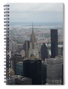 Manhattan From The Empire State Building Spiral Notebook