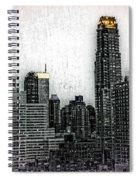 Manhattan View Spiral Notebook