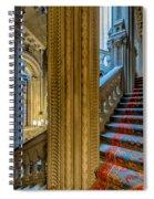 Mansion Stairway Spiral Notebook