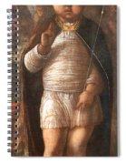Mantegna's The Infant Savior Spiral Notebook