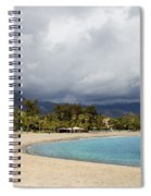 Marbella Beach Spiral Notebook