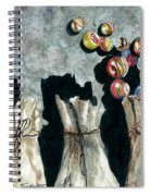 Marble Bags Spiral Notebook