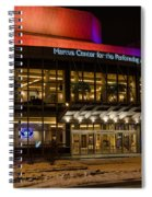Marcus Center For The Performing Arts  Spiral Notebook