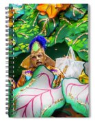 Mardi Gras Float Spiral Notebook