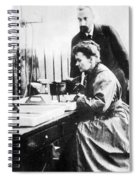 Marie And Pierre Curie Spiral Notebook