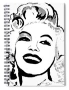 Marilyn What A Beautiful Girl Spiral Notebook