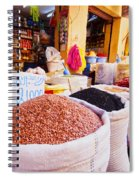 Market In Fes In Morocco Spiral Notebook