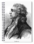 Marquis De Condorcet (1743-1794) Spiral Notebook