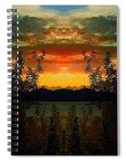 Marsh Lake - Yukon Spiral Notebook