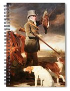 Marshall's J G Shaddick -- The Celebrated Sportsman Spiral Notebook