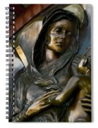 Mary And Jesus Spiral Notebook
