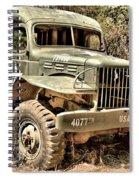 Mash History Spiral Notebook