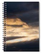Masses Of Dark Clouds Spiral Notebook