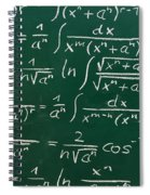 Mathematics Spiral Notebook