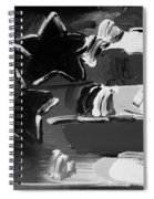 Max Americana In Black And White Spiral Notebook