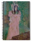 May Belfort Spiral Notebook