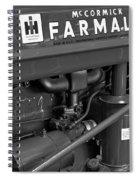 Mc Cormick Farmall Super C Spiral Notebook
