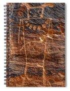 Mckee Springs Petroglyph - Utah Spiral Notebook