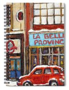 Mcleans Irish Pub Montreal Spiral Notebook
